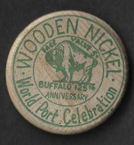 Buffalo Wooden Nickle